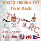 2x A2212 1000KV 13T Brushless Outrunner Motor RC  Quad Copter AirPlane