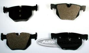 Disc Brake Pad Set-Semi-Metallic Pads Rear Autopartsource MF1042