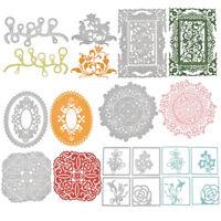 Metal Cutting Dies Stencil Embossing DIY Scrapbooking Album Cards Paper Crafts
