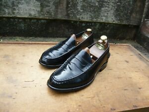 CHURCH'S VINTAGE LOAFERS – BLACK - UK 8 – ROCHESTER – EXCELLENT CONDITION
