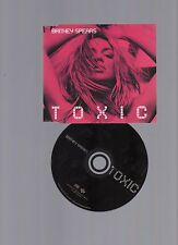 ☆☆ BRITNEY SPEARS TOXIC  -  3 Track  CD SINGLE ☆☆