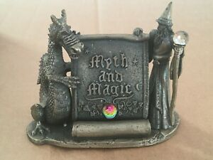 Boxed Tudor Mint Myth & Magic 'Magical Encounter' Pewter Ornament