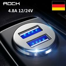 DE Auto Steckdose USB Wasserdicht Ladegerät Buchse 12-24V Motorrad KFZ Einbau
