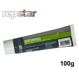 repstar Kupferpaste 100g Bremsenpaste Montagepaste Kupferfett bis 1100°C
