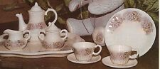 *Booth Ceramic Bisque Child's Tea Set Ready to Paint*