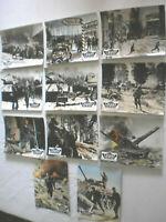11 x AHF,Aushangfoto ,DIE LETZTE SCHLACHT,ROBERT SHAW,HENRY FONDA,ROBERT RYAN