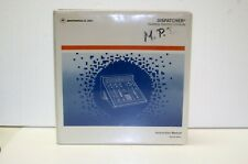 Motorola Dispatcher Desktop Control Manual Console 68P81074E90-O Manual