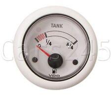 VDO Ocean Line white Fuel Gauge 52mm 24 V N02-222-702