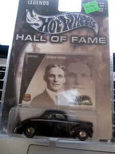 2002 HOT WHEELS HALL OF FAME 1940 FORD COUPE IN ORIGINAL PACKAGE