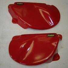 Honda XR75 1977-1978 XR80 1979-1982 Plastic Side Cover Set Red
