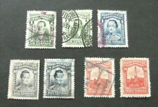 Colombia-1917 issues-Used