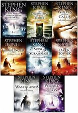 Dark Tower Stephen King Drawing of the Three Collection 8 Books Set Gift NEW