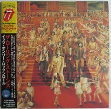 "THE ROLLING STONES - JAPAN CD VINYL REPLICA ""IT'S ONLY ROCK N'ROLL"""