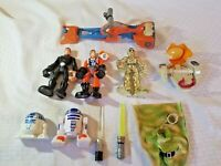 star Wars Hasbro Lucasfilm Figures And Vehicles Luke c3po r2d2 pod toy lot 2004
