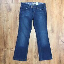 Levis 545 Low Boot Cut Jeans Button Flap Back Pockets Stretch Denim Womens 6 M