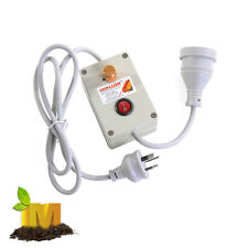 Ventilation Fan Speed Controller for hydroponics Grow Tent LED HPS grow light