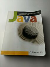 Java Third Edition Introduction To Object-Oriented Programming Book By C. Thomas
