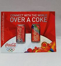 Vintage 2008 Coca Cola Coke Lapel Connect With World Olympic Pins Beijing China