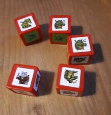 Yahtzee junior turtles  Game Replacement Spare parts pieces dice die y435