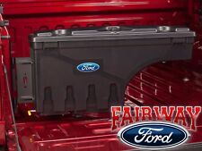 17 thru 19 Ford F250 F350 OEM Ford Lockable Pivot Storage Bed Tool Box Driver LH
