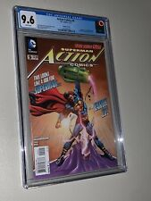 Action Comics #9 Variant Cover CGC 9.6