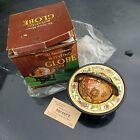 Vintage NOS NEW 1960's Old World, Zodiac Metal Globe Stand Tabletop / Desk Decor