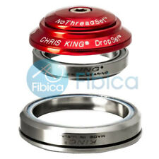New Chris King Dropset 1 integrated Tapered NoThreadSet Headset 41mm 45mm Red