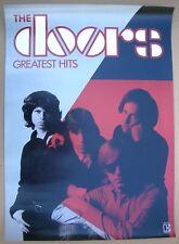 DOORS Jim Morrison Greatest Hits Promo Poster Mint- 1980 Classic ORIGINAL!
