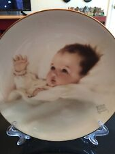 "Vntg Awakening Series Collector Plate ""Bundles of Joy""  Bessie Pease Gutman 1987"