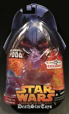 Star Wars 2005 Revenge Of The Sith Holographic Jedi Master Yoda TRU Exclusive