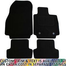 For Renault Clio MK4 2013-2019 Fully Tailored 4 Piece Car Mat Set with 2 Clips