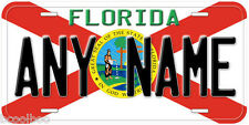 Florida State Flag Any Name Personalized Novelty Car License Plate