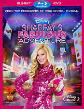 BLU-RAY & DVD NEW: WALT DISNEY SHARPAY'S FABULOUS ADVENTURE: WITH SLIP COVER!!!!