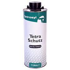 4 x Tetrosyl Tetra Schutz 1L Tin Rust Protection Spray TSH010 Underseal For Gun