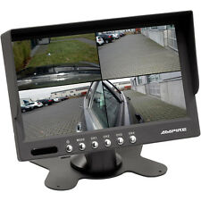 7 pouces rückfahrmonitor tft écran Ampire 4 Canal quad caméra de recul