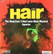 "Vinyle 45T Hair - The American Tribal Love-Rock Musical ""Aquarius"""
