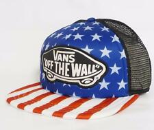 Vans Off The Wall Beach Girl Stars Stripe Trucker Classic Patch Snapback New NWT