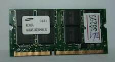MODULO RAM SODIMM SAMSUNG 256MB 144pin PC100 CL2 USATA OTTIMO STATO EL1 38299