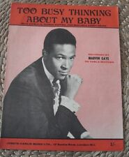 MARVIN GAYE - TOO BUSY THINKING ABOUT MY BABY - RARE AND EXCELLENT