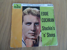 "EDDIE COCHRAN - STOCKINS ' N' SHOES 7"" EP PICTURE COVER MONO LEP2180"