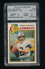 ROGER STAUBACH 2001 TOPPS ARCHIVES #167 '79 FINAL 9.5 MINT+ *DALLAS COWBOYS*