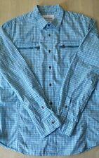 NWOT GUESS MENS PLAID BUTTON DOWN SHIRT COLOR BLUE SIZE XL $69.00