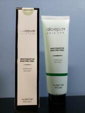 Aloette AloePure Skin Care Restorative Enzyme Peel Exfoliating Gel 2 oz - New!