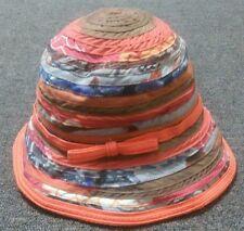 Designer Daniele Meucci Hat Women's  Multicolour Made in Italy