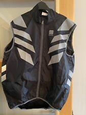 Sportful Men's Reflex Windproof Cycling Vest - Gilet Black 2XL