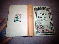 Anciens Guide du Jardinage Jardin Parc Jean Dubowski 1928 Culture Légume Plante