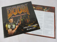 DOOM: The Board Game REPLACEMENT INSTRUCTIONS & SCENARIO BOOK by FFG!!