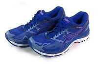Asics Gel Nimbus 19 Running Shoes Womens Size 10.5 Blue T750N Athletic Sneaker