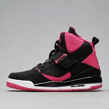 Nike Jordan Flight 45 High Taglia UK 4 EUR 36.5 Scarpe da ginnastica Donna Nero Run