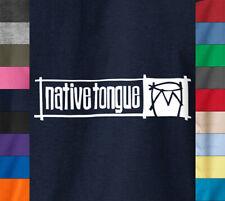 NATIVE TONGUE T-Shirt A Tribe Called Quest De La Soul Questlove on Quality Tee